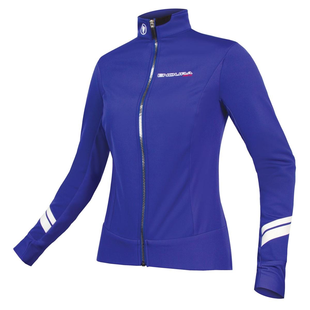 1ccc1dbd4 Endura Womens Pro SL Thermal Windproof Jacket Blue £149.99