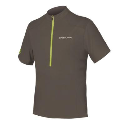 Endura Hummvee Short Sleeve Mens Jersey Khaki £39.99 fc812fc79