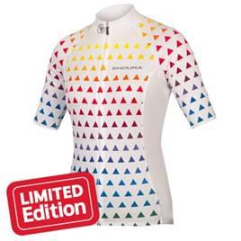 Endura Womens Triangulate Short Sleeve Jersey White 7822c7219