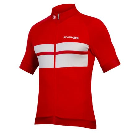 Endura FS260-Pro Short Sleeve Mens Jersey Red £59.99 f0cea2fb1