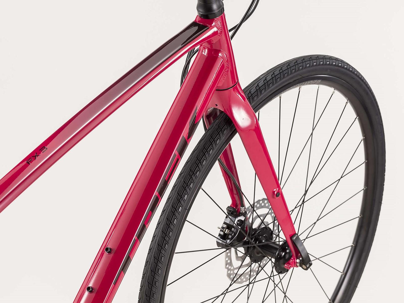 Trek Fx 3 Disc Womens City Bike 2020 Magenta 163 650 00
