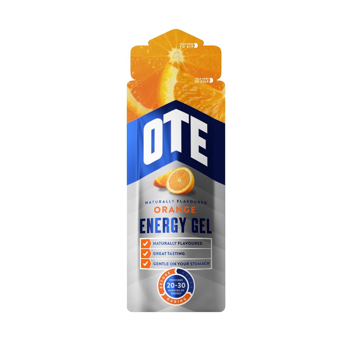 Ote Energy Gel 56g Orange 150 Sis Go Electrolyte Raspberry
