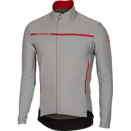 Castelli Perfetto Long Sleeve Mens Jersey Luna Grey £125.00 60ad90cb0