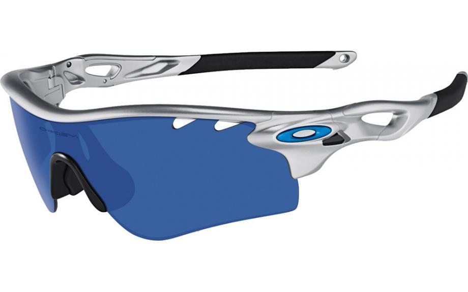 0df9ae380ff7d Oakley RadarLock Path Silver Frame Ice Iridium VR28 Lens Glasses £100.00