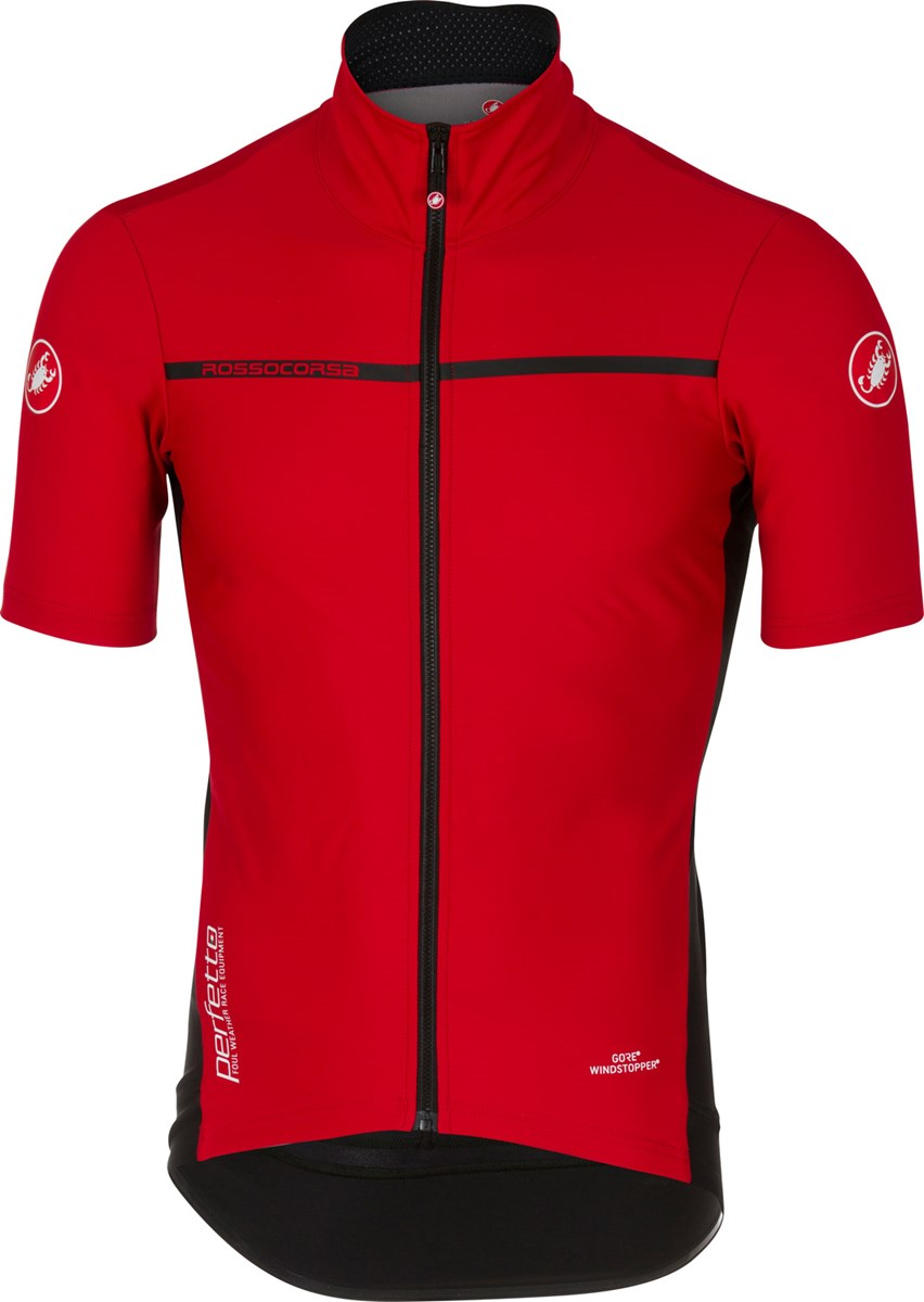 Castelli Perfetto Light 2 Short Sleeve Jersey Red £135.00 e9234b4a8