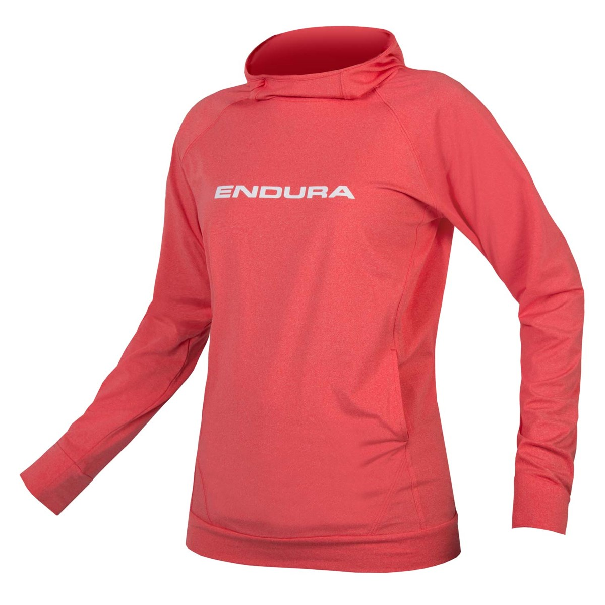 4c3e4e7c0 Endura SingleTrack Womens Hoodie Coral £49.99