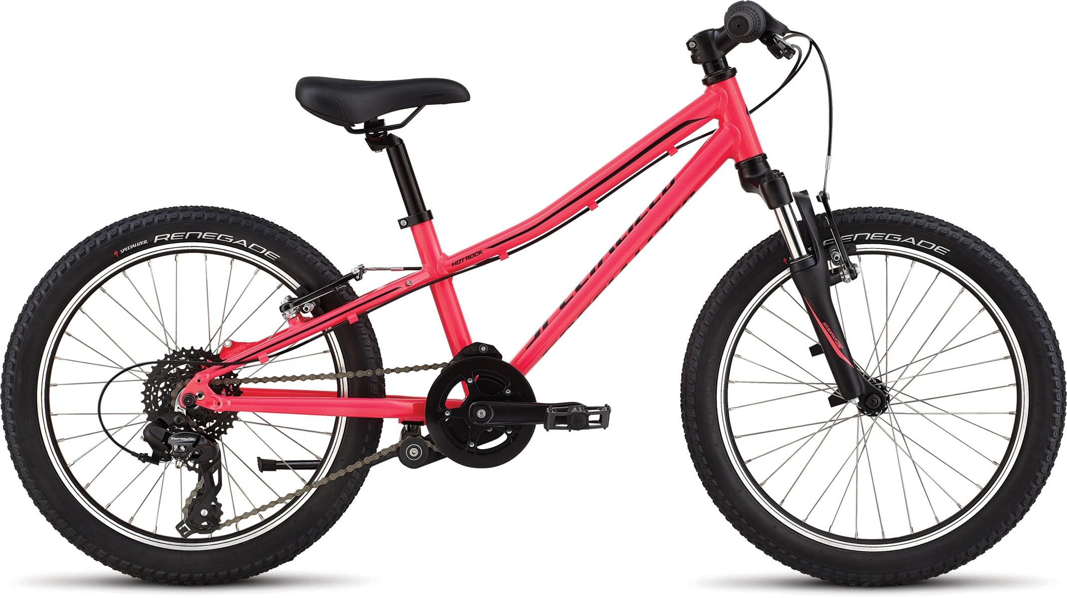 Specialized Hotrock 20 Kids Bike 2020 - Acid Pink/Black