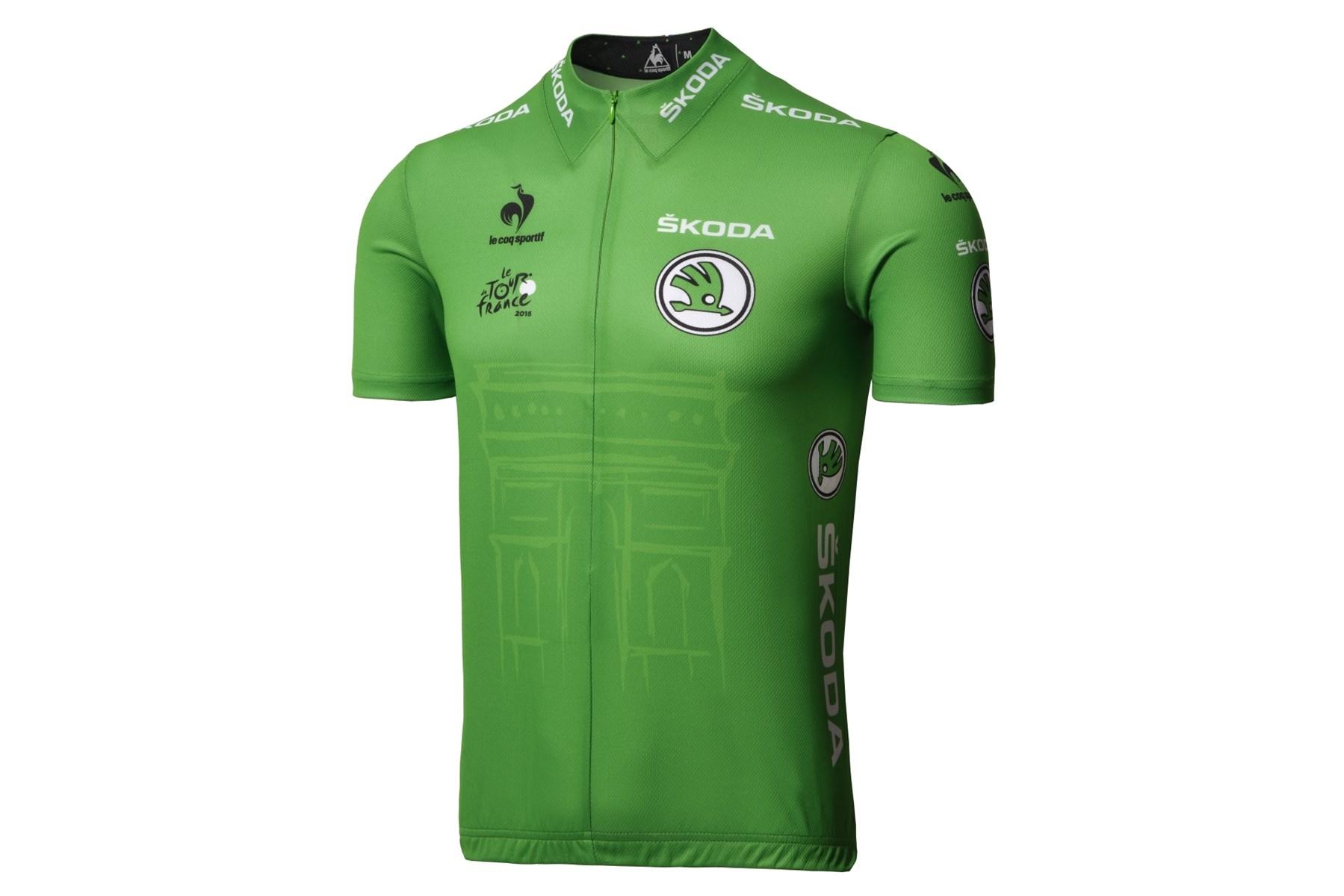 Le Coq Sportif Tour de France 2015 Green Jersey Medium £30.00 ef9200a1d